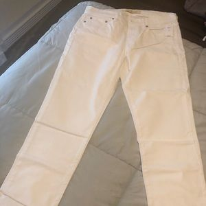 Brand New Gap Best Girlfriend White Jeans